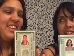 Incesto de duas irmãs verdadeiras fazendo sexo